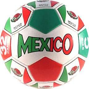 Size 3 Mexico Flag Soccer Balls