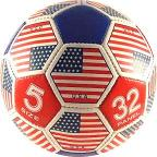 Full Size Soccer Ball 2 Ply USA Flag