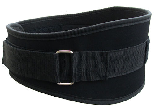 weight lifting belt size guide
