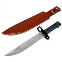 13.5 Inch Bayonet Combat Knife Green Handle