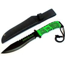 13 Inch Zombie Killer Green & Black Handle