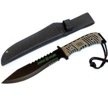 13 Inch Zombie Killer Gray & Black Handle